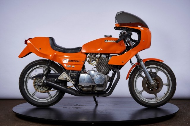 Laverda Montjuic Mk2 1980s Italian classic sports bike