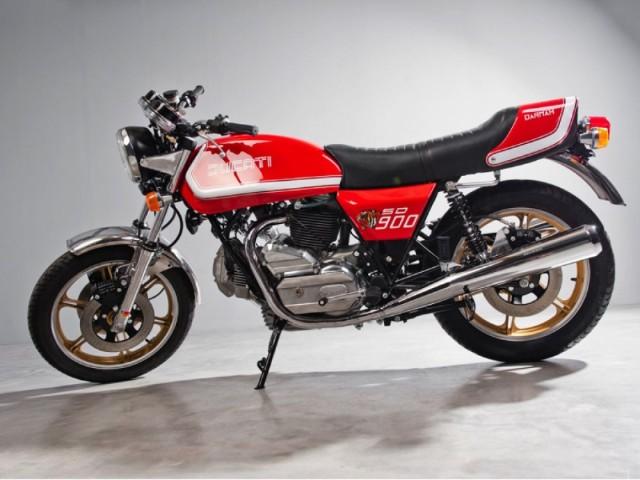Ducati Dharma SD 900 1970s Italian classic sports bike