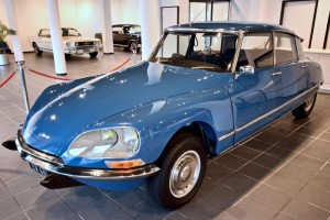 Citroen DS 1950s French classic car