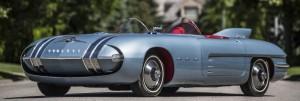 Pontiac Club de Mer 1950s American classic concept car